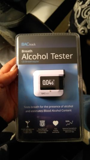 BACtrack - Breath Alcohol Tester C8 Breathalyzer for Sale in Fresno, CA