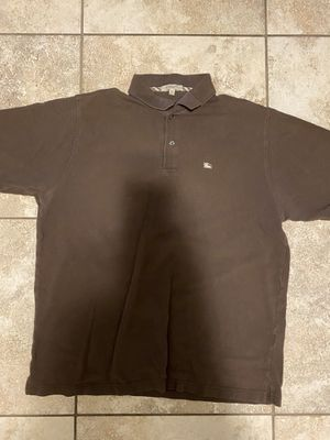 Brown Burberry Polo Size XL for Sale in Tempe, AZ