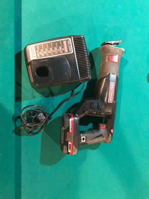 Craftsman Reciprocating saw 19.2 V and charger for Sale in Wichita, KS