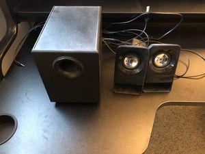 Logitech Multimedia 2.1 Speakers Z213 for Sale in Seattle, WA