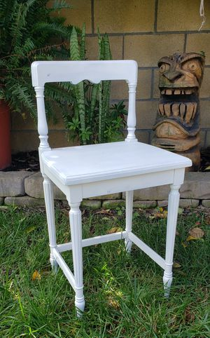 Vintage Kids Chair Chalk Painted Urban Farm Decor for Sale in Huntington Beach, CA