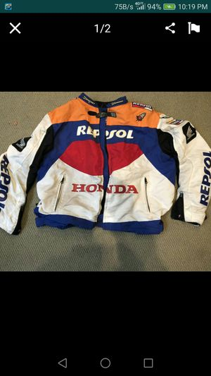 Someone steal my two motorcycle jackets Repsol and Suzuki for Sale in San Mateo, CA