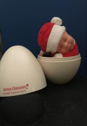 Anne Geddes love egg with Bennie Santa baby for Sale in Corona, CA