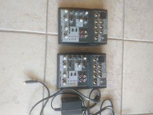 Behringer 502 mixers for Sale in Elk Grove, CA