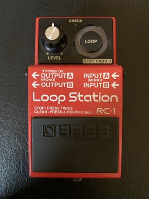 BOSS RC 1 Looper pedal for Sale in San Diego, CA