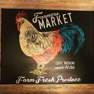 Large Farmhouse Rooster Sign for Sale in Medford, OR