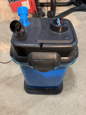 Aquarium canister filter for Sale in Newfield, NJ