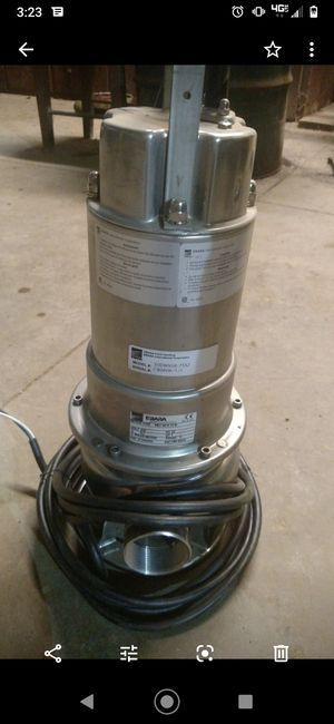 Ebara submersible sewage pump for Sale in Sterling, OH