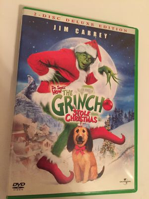 Dr. Seuss How The Grinch Stole Christmas 2-Disc Deluxe Edition DVD for Sale in Greensboro, NC
