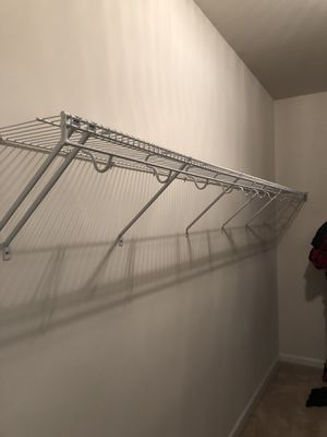 Closetmaid wire shelf - more than 10ft long for Sale in Springfield, VA