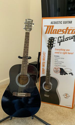 Gibson acoustic guitar for Sale in Alexandria, VA