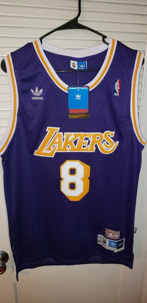 Men's Medium Kobe Bryant Los Angeles Lakers Jersey New with Tags Stiched Adidas $45. Ships +$3. Pick up in West Covina for Sale in La Puente, CA