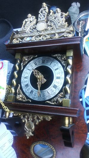 Franz hermes antique wall clock for Sale in North Las Vegas, NV