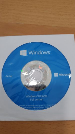 OEM Windows 10 Home installation Disc $1 for Sale in Westminster, CA