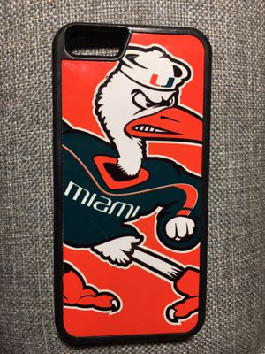Miami Hurricanes Phone Case for iPhone 6s for Sale in French Creek, WV