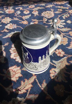 German Beer Stein Mug - Simon Peter Getz Mug - Cheers & Prost! - West Germany Tankard for Sale in Leavenworth, WA