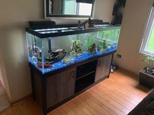 125 Gallon fish tank...remove yourself. for Sale in Lake Villa, IL