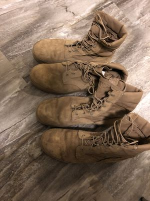 Used McRae military boots for Sale in Dallas, TX