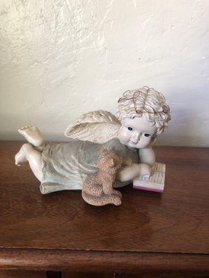Little porcelain musical angel for Sale in Norwalk, CA