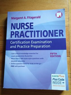 Nurse Practitioner Certification Examination And Practice Preparation 5th Edition for Sale in Columbus,  OH