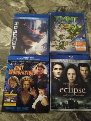 Lot of 9 Blu Rays shipping only no pickup for Sale in Apalachicola, FL