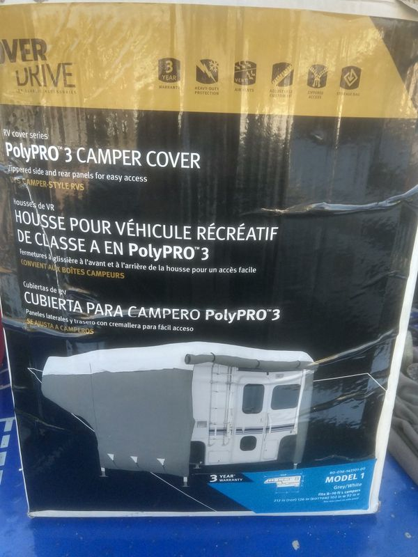 Over drive 8-19' camper cover