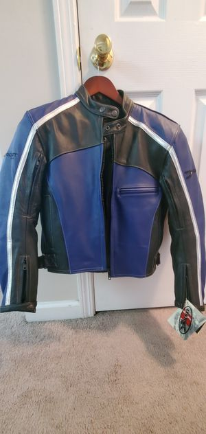 Women's Joe Rocket Leather Motorcycle Jacket Small for Sale in Midlothian, VA