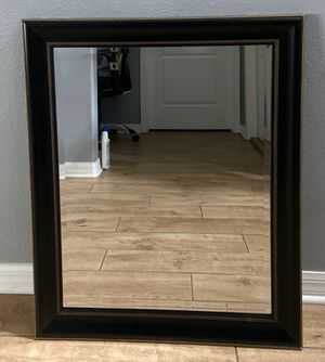 Decorative Wall Mirror - black for Sale in Land O Lakes, FL
