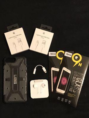 Apple iPhone 7Plus 8plus Authentic Accessory Bundle for Sale in Phoenix, AZ