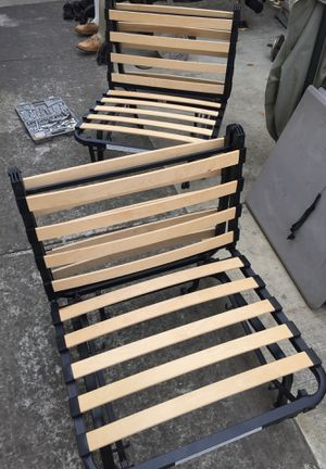 (2) IKEA L LYCKSELE CHAIR BED twin size. NO mattresses for them. for Sale in San Jose, CA