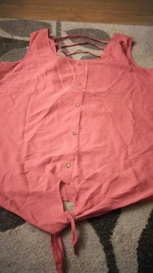 Cute plus size blouse for Sale in San Jose, CA