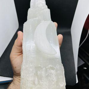 Selenite Moon Crystal. Large . for Sale in Henderson, NV
