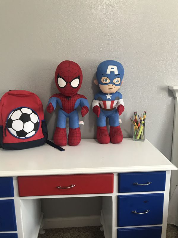 Spider-Man and Captain America