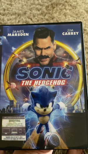 Sonic the hedgehog movie for Sale in Paterson, NJ
