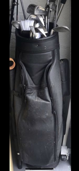 Golf clubs, bag, driver and all for Sale in Margate, FL
