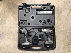 Craftsman Cordless Drill and Light Combo for Sale in McAllen, TX