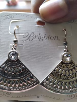 Diamond style , clean brand new earrings. for Sale in Portland, OR