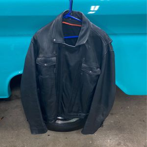 Size 2X leather riding jacket for Sale in Salem, OR
