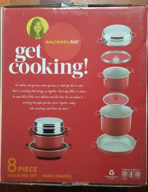 Brand New!! Rachael Ray Nonstick Aluminum 8-Piece Cookware Set for Sale in San Francisco, CA