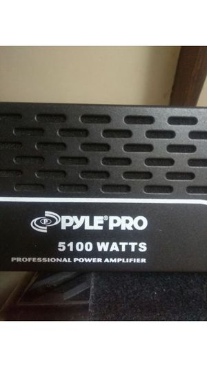 Pyle Pro 5100 W Studio Amplifier for Sale in Los Angeles, CA