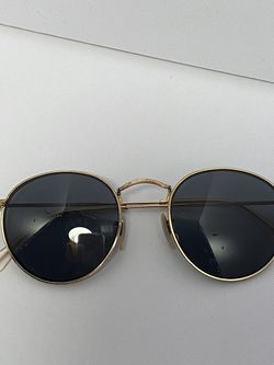 Ray Ban©️ Round Metal Sunglasses Frame for Sale in Pompano Beach,  FL