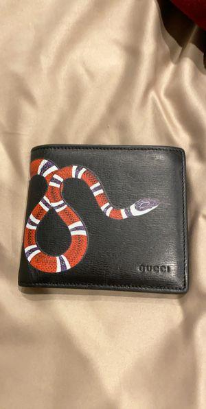 Gucci snake wallet for Sale in Santa Clarita, CA