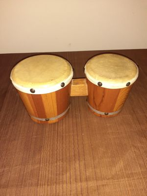 🔥HANDCRAFTED BANGO DRUMS🔥WOOD for Sale in Indianapolis, IN