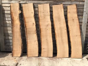 5 piece, Live Edge Cherry Slabs (ch5) for Sale in Bethel, PA