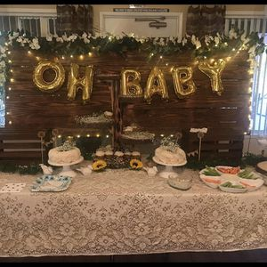 Wood Back Drop For Baby showers for Sale in Lakeside, CA