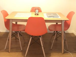 5pc kitchen table with chairs for Sale in Scottsdale, AZ