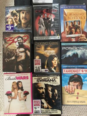 DVD 's various titles $20 for Sale in Richmond, VA