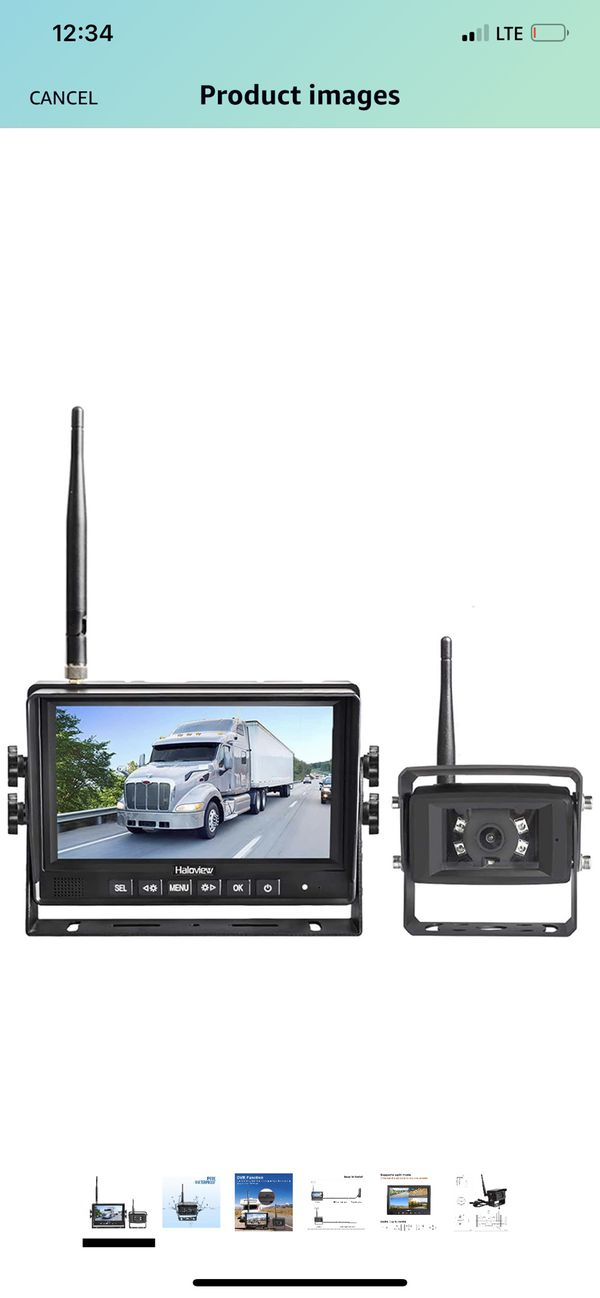 Haloview wireless backup camera
