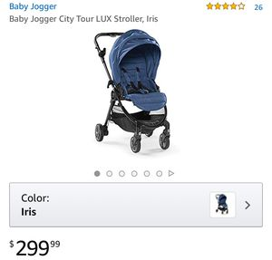 Baby Jogger City Tour LUX Stroller, Iris for Sale in St. Louis, MO