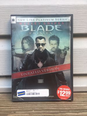 Blade Trinity Unrated 2 DVDs - Platinum Series - Like New for Sale in Chicago, IL